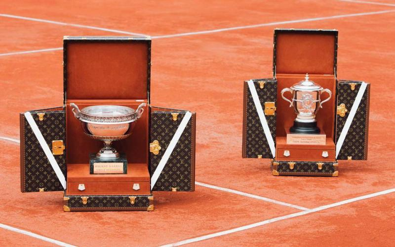 Pokale der French Open